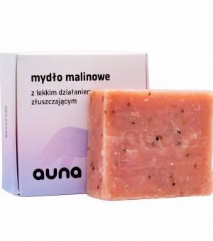 auna mydło malinowe vegan dobreko