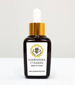 miodowa mydlarnia olejek do twarzy czarnuszka z tamanu