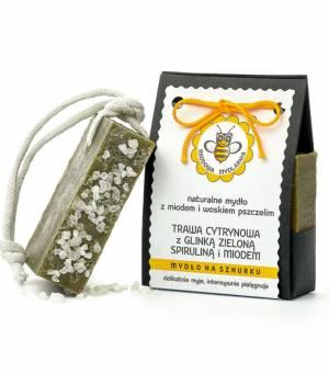 mydlo naturalne trawa cytrynowa miodowa mydlarnia dobreko